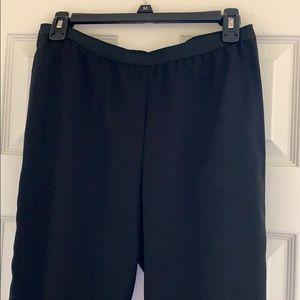 BCBG Black Fabric Pants Size S